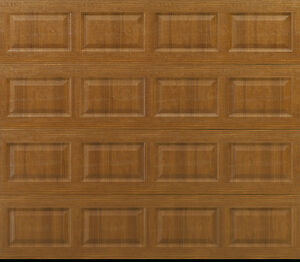 NEW Overstock Garage Door, 8x7 Insulated, Woodgrain, $255 OFF