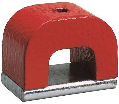 General Tools 370 2 Horseshoe Power Alnico Magnet  2 Oz  3 4  H