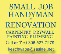 SMALL JOB HANDYMAN & RENOVATION