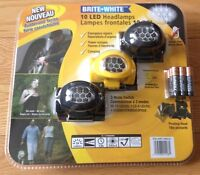 New and unopened Bright White LED head lamp with batteries