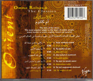 Orient - Omme Kolsoum - The Classics (Virgin) West Island Greater Montréal image 2