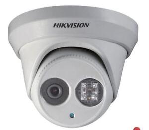 Hikvision IP 4K Security Camera BRAMPTON Hidden Wiring