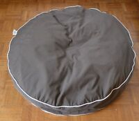 "Large ""Dog Gone Smart Bed""  Round with Canvas Zippered Cover"