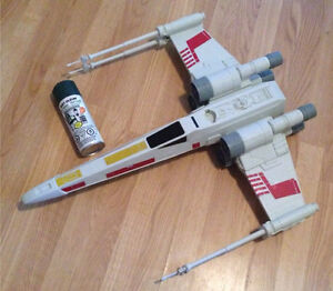 Star Wars jumbo ship, like new