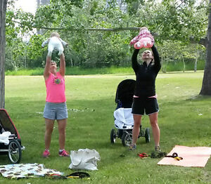 MOM & BABY FITNESS (outdoor stroller strength & conditioning)