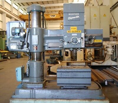 1969 5 X 11 Giddings Lewis 952 Chipmaster Radial Arm Drill Power Elevation