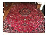 Handmade Persian antique rug