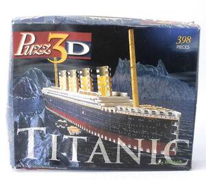 Titanic 3D Wrebbit puzzle- London Ontario image 1