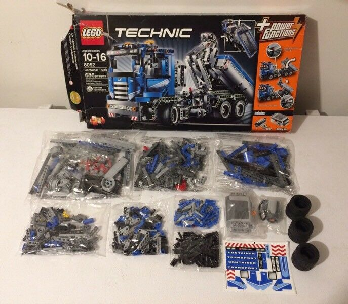 Lego Technic Container Truck 8052 Sealed Bags Complete Toys