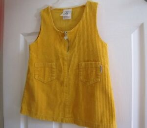Yellow corduroy jumper Kitchener / Waterloo Kitchener Area image 2
