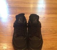 Air Jordan 4 Black Cat Size 13
