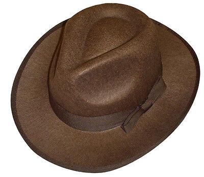 Freddy Krueger Nightmare Elm St Explorer Fedora Hat Fancy Dress Adult NEW P7018 (Freddy Krueger Fedora)