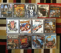 13 Playstation 3 Games