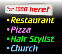 Used Outdoor Sign for Church Restaurant Hair Stylist & more!