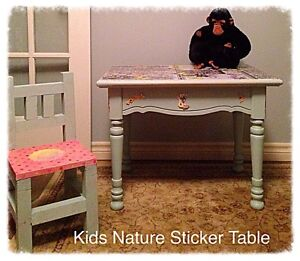 Childs Solid Wood Desk & Chair