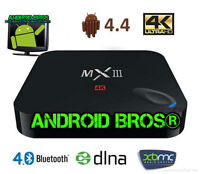ANDROID BROS® MX3 Fully Loaded Android TV Box-* RATED#1