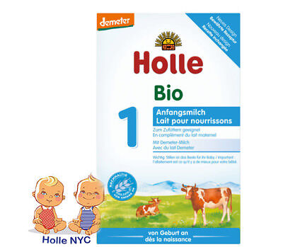 Holle Stage 1 Organic Formula, 0-6 months, 400g 10/2019