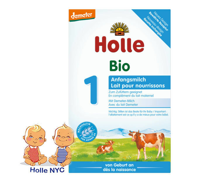 Holle Stage 1 Organic Formula, 0-6 months, 400g 04/2020