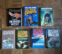 Alistair MacLean, Philip Jose Farmer, & Morris West‏