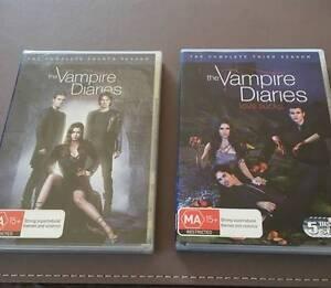 Vampire Diaries - DVD'S Brand New Summerhill Launceston Area Preview
