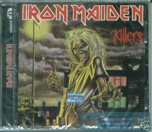 IRON MAIDEN KILLERS + BONUS SEALED CD NEW REMASTERED
