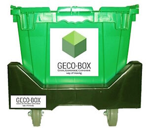 Eco-Friendly Plastic moving box Rentals. Free Delivery and pick.