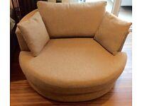2 seater swivel chair