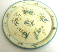 1950's Tin Trays featuring French Chefs by Daher Made in Holland
