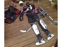 Complete Ice Hockey Kit