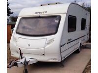 Sprite Major 6 berth fixed bunk beds and motor mover