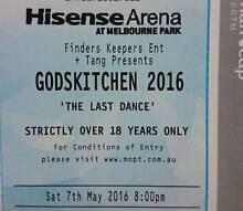 "GODSKITCHEN 2016 "" THE LAST DANCE"" MELBOURNE Glenroy Moreland Area Preview"