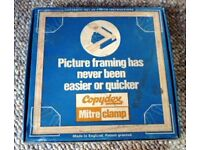 VINTAGE COPYDEX MITRE CLAMP.