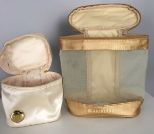 Makeup bags for cosmetics and skin care