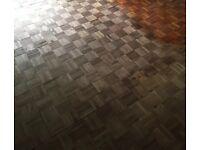 Wood flooring Parquet / Solid wood floor / 35 square meters £250 ONO.
