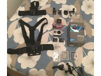 GoPro Hero 4 Silver with Extras
