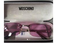 Moschino sun glasses for sale