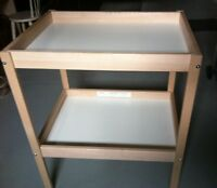 IKEA Sniglar Change Table Beech White