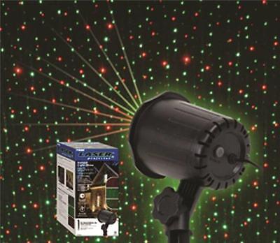 NEW PRIME LFLERG05 METAL 5 MODE YARD STAKE LASER LIGHT PROJECTOR CHRISTMAS