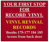 THE VINYL REVIVAL -- YOUR 1st STOP FOR LPs AT FLEAMARKET