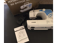 Immaculate used Hyundai 60 stitch sewing machine
