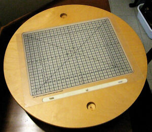 TRADITIONAL ANIMATION LIGHT TABLE DISC - Never Used