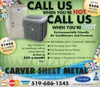 Installation and Services of Heating and Air Conditioning