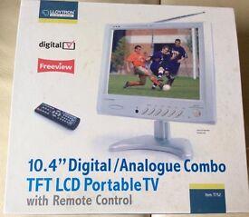 "10.4"" portable LCD TV"
