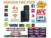 AMAZON FIRE STICK FULLY LOADED-HD SPORTS MOVIES, ADULT, NEW SOFTWARE ADDED 01/12 + GIFT!!