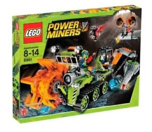 Lego Power Miners 8961 Crystal Sweeper - Complete w/instr!