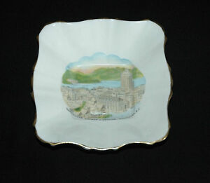 Vancouver Harbor & Skyline Royal Stafford Bone China Dish