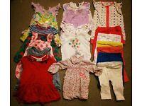 3-6 month girl's summer clothes bundle