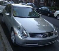 2004 INFINITI G35X AWD IN MINT CONDITION FOR SALE