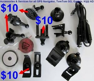 GPS Accessories and GPS Services, TomTom, Garmin, IGO & Magellan