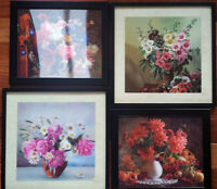 3D Room Brightening Floral Pictures